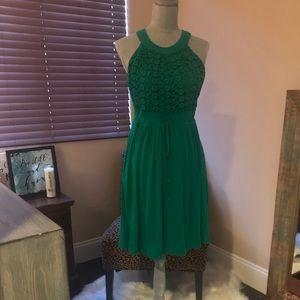 Beautiful green Calvin Klein dress